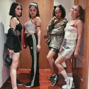 Annasophia Robb, Isabelle Fuhrman, Victoria Moroles and Taylor Russell - Spice Girls costume (Halloween 2016) (1x)