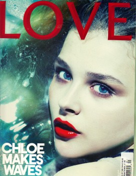 Chloe Moretz:  UK Love Magazine Cover 2013: HQ x 1
