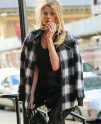 Charlotte McKinney - Out in NYC 12/15/16