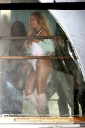 Khloe Kardashian - On set of a photoshoot at St Dance Studio in LA 12/14/16