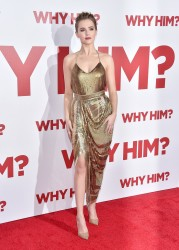 Zoey Deutch - 'Why Him?' Premiere in Westwood 12/17/16