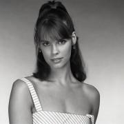 Alexandra Paul - unknown 1980s B&W photoshoot x4