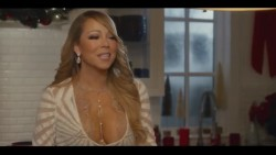 "Mariah Carey - ""Keys of Christmas"" Cleavage Caps (2016)"