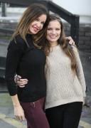 Alicia Douvall and daughter Georgia Douvall 1