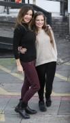 Alicia Douvall and daughter Georgia Douvall 3