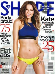 Kate Beckinsale - Shape Magazine January 2017