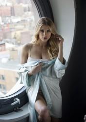 Charlotte McKinney - For Love & Lemons Photoshoot