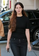 Lana Del Rey - Shopping in Beverly Hills 12/22/16