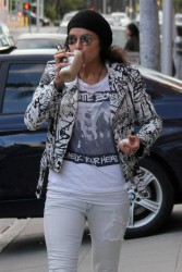 Michelle Rodriguez - Out in Beverly Hills 12/22/16