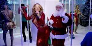 Mariah Carey - Daring Outfit For Her Christmas Special (12/22/16)