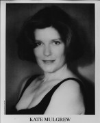 Kate Mulgrew - unknown B&W headshot x1