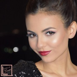 Victoria Justice - Makeup by Lusine