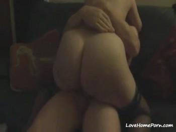 Fick auf der Couch