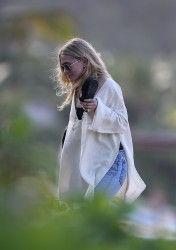 Ashley Olsen - On vacation in St. Barts 12/27/16