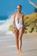 Victoria Hervey | Swimsuit Candids in Barbados | December 27 | 30 pics