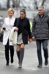 Ana Ivanovic arriving at Old Trafford Stadium in Manchester 31.12.2016 x14