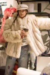 Bella Hadid - Shopping in Aspen 12/29/16