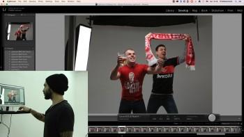 Постановочная студийная съемка и рекламная ретушь (2016) Мастер-класс