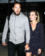 Margot Robbie - At LAX Airport 1/2/17