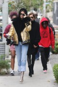 Kendall Jenner & Hailey Baldwin - Out for lunch at Zinque Cafe in West Hollywood 1/2/17