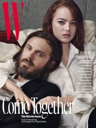Emma Stone - W Magazine February 2017