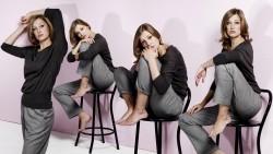 Alexandra Maria Lara, Erica Cerra, Eva Mendes Olivia Wilde, Salma Hayek, Scarlett Johansson, Selena Gomez  (Wallpapers) 8x