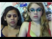 2 girls have fun on omegle.