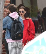 Bella Hadid - Out for lunch in Beverly Hills 1/3/17