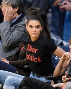 Kendall Jenner & Hailey Baldwin - At the Memphis Grizzlies vs. LA Lakers Game 1/3/17