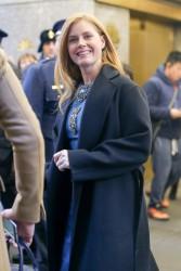 Amy Adams - Leaving NBC Studios in NYC 1/4/17