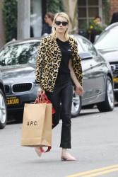 Emma Roberts - Shopping in LA 1/4/17