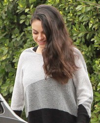 Mila Kunis - Out in Studio City 1/4/17
