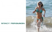Fergie : Very Hot Bikini Wallpapers x 6