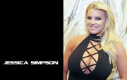 Jessica Simpson : Busty Wallpapers x 10