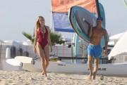 Kimberley Garner | Swimsuit Candids in St. Tropez | January 4 | 30 pics