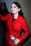 Archie Panjabi all smiles leaving The 10