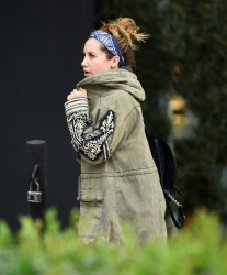 Ashley Tisdale - Out for lunch in West Hollywood 1/4/17