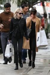 Lea Michele & Emma Roberts - Shopping in LA 1/5/17