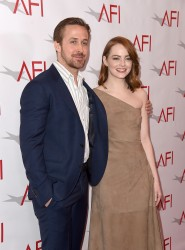 Emma Stone - 17th Annual AFI Awards in LA 1/6/17