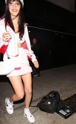 Bella Hadid - Leaving Bootsy Bellows in LA 1/5/17