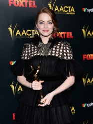 Emma Stone - The 6th AACTA International Awards in LA 1/6/17