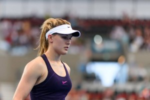 Genie Bouchard - Brisbane International in Brisbane, Australia - 01/01/2017