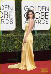 Emily Ratajkowski - 74th Annual Golden Globe Awards 1/8/17