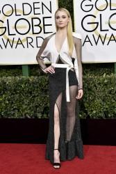 Sophie Turner - 74th Annual Golden Globe Awards 1/8/17