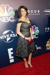 Milana Vayntrub at Golden Globe Awards After Parties in Beverly Hills - 1/8/17