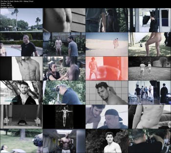 Dieux Du Stade Calendar 2016 - Making Of