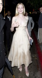 Elle Fanning - At the chateau marmont in LA 1/8/17