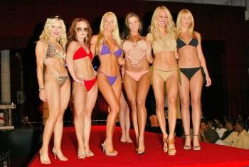 JENNA VON OY *bikini fashion show*