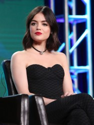 Lucy Hale - 2017 Winter TCA Tour Day 6 'Pretty Little Liars' Panel 1/10/17