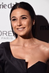 Emmanuelle Chriqui - Marie Claire's 2017 Image Maker Awards in West Hollywood 1/10/17